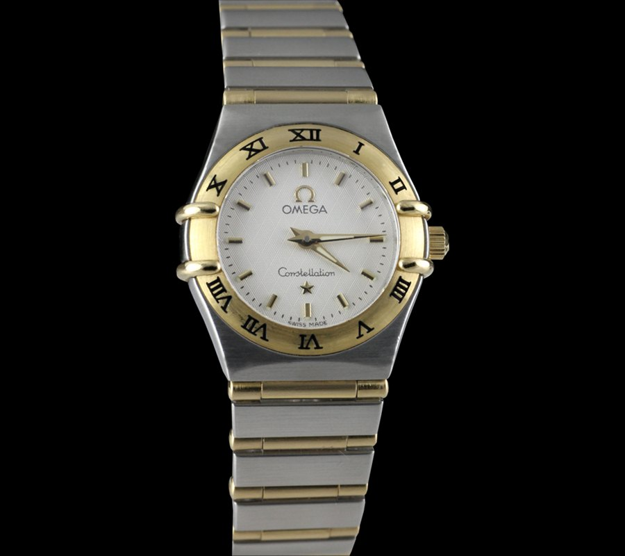 Omega_Constellation_18kSS_Ladies_Copy-Watches