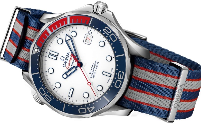 Introductions Of Superb Replica Omega Seamaster Diver 300M 212.32.41.20.04.001 Commander's Watch UK