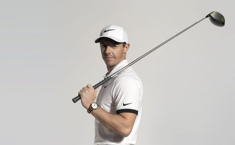 Rory McIlroy With Special Replica Omega Seamaster Aqua Terra 150M 220.12.41.21.02.003 Watches UK