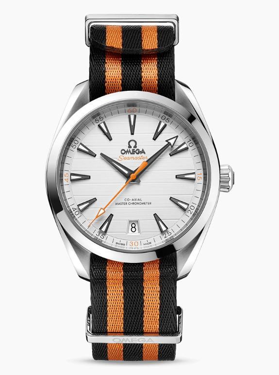 The durable fake Omega Seamaster Aqua Terra 150M 220.12.41.21.02.003 watches are made from stainless steel.