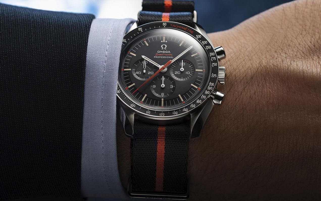 The sturdy fake Omega Speedmaster SpeedyTuesday 311.12.42.30.01.001 watches are made from stainless steel.