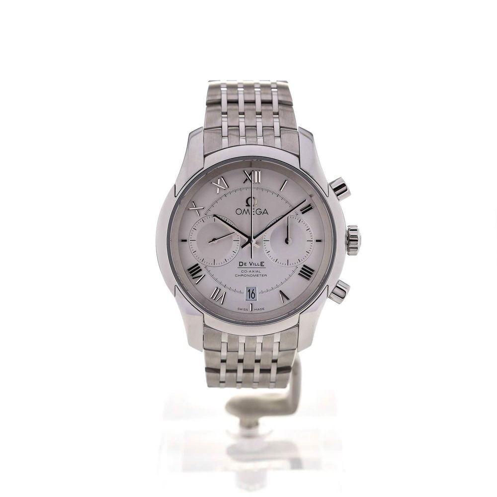 The sturdy fake Omega De Ville 431.10.42.51.02.001 watches are made from stainless steel.
