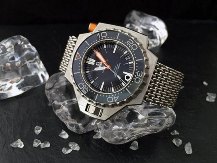 The excellent copy Omega Seamaster Ploprof 1200M 224.32.55.21.01.002 watches can guarantee water resistance to 1,200 meters.