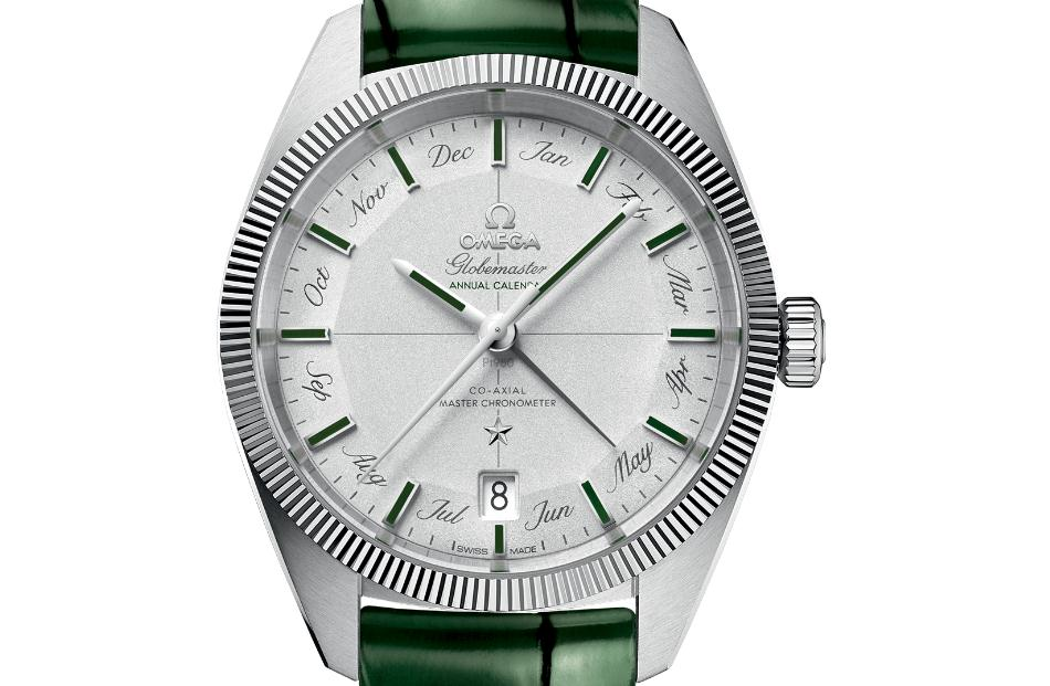 The 41 mm replica Omega Constellation Globemaster 130.93.41.22.99.002 watches have grey dials.