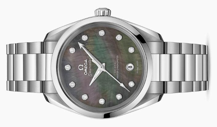 The sturdy fake Omega Seamaster Aqua Terra 150M 220.10.38.20.57.001 watches are made from stainless steel.