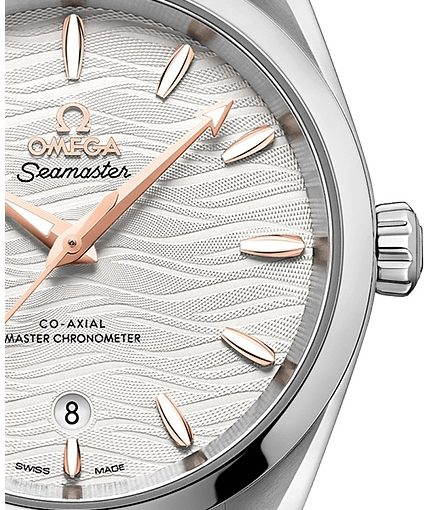 UK Delicate Replica Omega Seamaster 220.10.34.20.02.001 Watches For Females