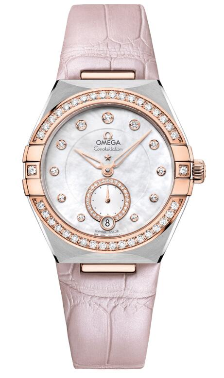 The fake watches for sale are efficiently coordinated with beige straps and Sedna gold material.